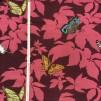 Fjärilsträdgård- rosa