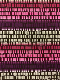 Squares 'n' stripes- rosa -