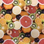 Fruity bomullstyg