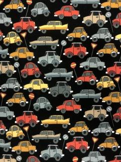 Biltrafik bomullstrikå -
