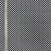 Rut svartvit- bomullsväv