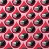 Droppen- bomullstrikå rosa
