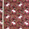 Rosa elefant- bomullstrikå