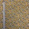 Påskliljor- bomullsväv