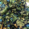 Bland blad och djur- bomullsväv