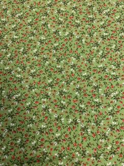 Gröna Små Blommor -