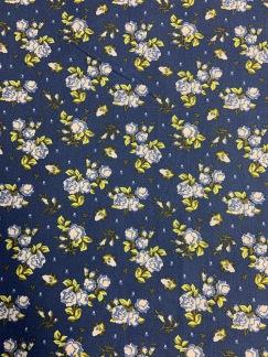 Blå Små Blommor -