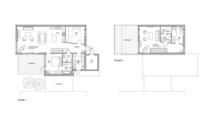 Interiör 2-plan. Klicka på bilden för större format.