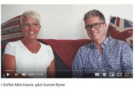 """Gunnel Ryner gäst i """"I soffan med Hasse"""""""