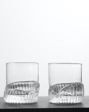 Whiskey glass, Stripes. Photo: Hans Jonasson