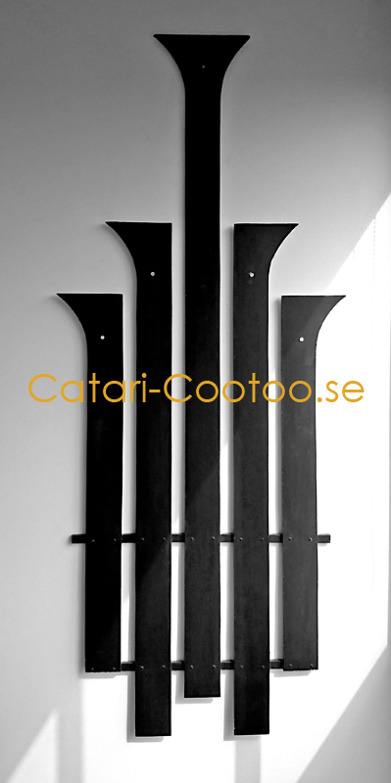 Wall decoration 80 x 190 cm (wood)