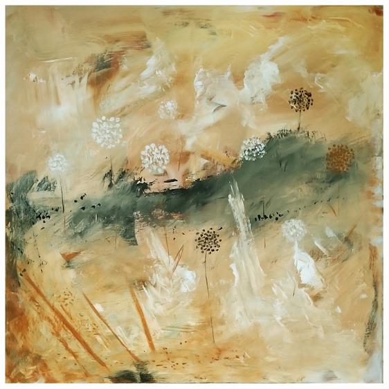 1 - Acrylic, 80 x 80 cm