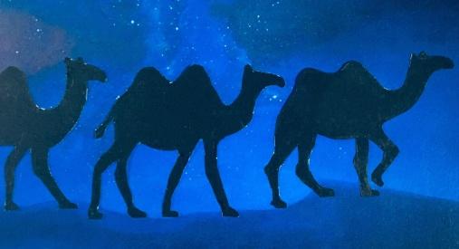Tre Vise Kameler - grafisk design: Lotta Sjölin Cederblom