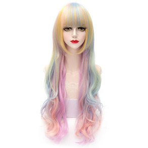 Peruk Lolita Colorful - Peruk Lolita Colorful