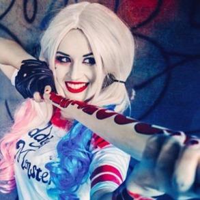 Harley Quinn extra lång - Harley Quinn extra lång