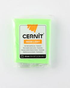 Cernitlera, modelleringslera - Lera Cernit Neon 56 G GREEN 600
