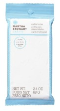 Martha Stewart Craft MSC Crafters Clay White Clay