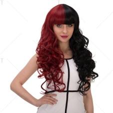 Harley Quinn röd & svart