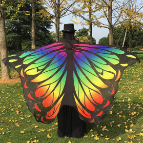 Butterfly Wing Scarf/Cape - Butterfly Wing Scarf/Cape