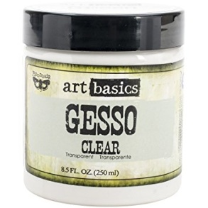 Prima Art Basics - Clear Gesso 250 ml - Prima Art Basics - Clear Gesso 250 ml