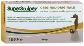 Lera Super Sculpey -- Pink/Beige, 1 lb. - Lera Super Sculpey -- Pink/Beige, 1 lb.