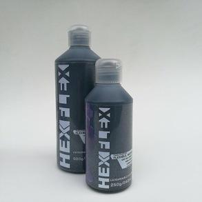 Hexflex 250 g/240 ml - Hexflex 250gram Svart