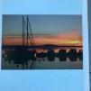 På Storsjön med segel och motor.