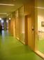 Väsby gymnasium korridor