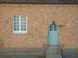 Strängnäs gymnasieskola bevarad gammal detalj