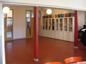 Strängnäs gymnasieskola korridor 1