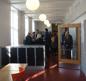 Strängnäs gymnsieskola korridor 2