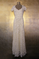 Olvis' Lace Gown | Ivory  (Please contact boutique to order)