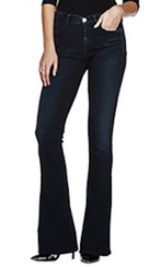 Goldsign Stella Flare Jeans |​ Embrace Dark Blue