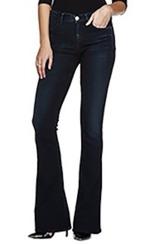 Goldsign Stella Flare Jeans | Embrace Dark Blue