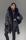 Ninfa Jacket Down & Fox Trim in Black
