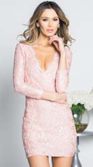 Holt Miami Monica Dress | Pink