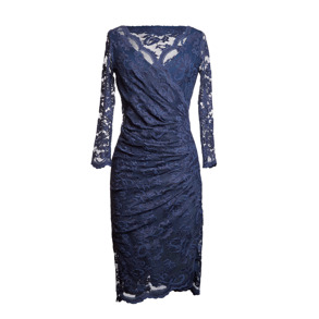 Olvis' Lace Dress midnight blue - EU 36