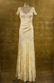 Olvis' Lace Gown | Pale Yellow  (Please contact boutique to order) - 38/40