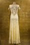 Olvis' Lace Gown | Pale Yellow  (Please contact boutique to order)