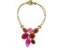 Boks & Baum Mini Lea Pink Necklace - Boks & Baum Mini Lea Pink Necklace