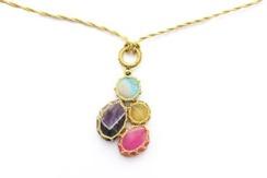 Boks & Baum Venise Multicolored Necklace