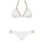Demadly Braided Cascade Bikini | White (please contact boutique to order) - EU 38