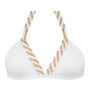 Demadly Braided Cascade Bikini | White (please contact boutique to order)