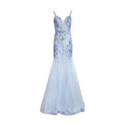Basix Black Label Gown | Soft Blue