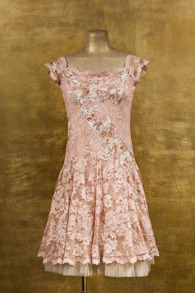 Olvis' Ballerina Lace Dress | Pink (Please contact boutique to order) - IT 38