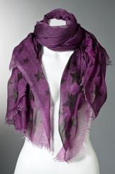 Richiami Couture Stelle Scarf | purple