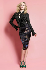 Wheels & Dollbaby Le Chic Pencil Skirt Chinoi