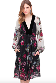 Roberto Cavalli Mystic Garden Shirt Dress - IT 44