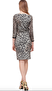 Roberto Cavalli Animalier Dress with Snake Buckle