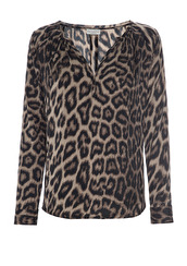 Dea Kudibal Irene Leopard Blouse   leo